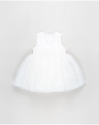 Bebe by Minihaha - Embroidered Organza Dress - Babies