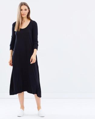 Primness – Quoet Long Sleeve Dress – Dresses (Noir)