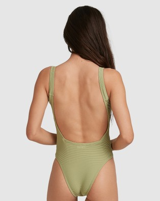 Billabong Tanlines One Piece - One-Piece / Swimsuit (MOSSTONE)