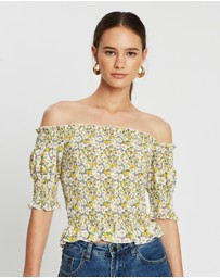Atmos&Here - Dolly Off-The-Shoulder Top
