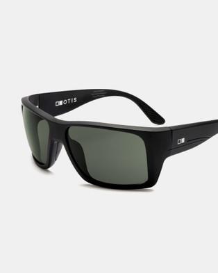 Otis Coastin REFLECT Polarised - Sunglasses (Matte Crystal Flash Mirror Grey Polarised)