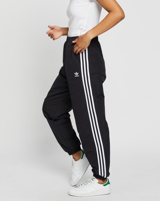 adidas Originals Adicolour Classics Double Waistband Fashion Track Pants - Track Pants (Black)