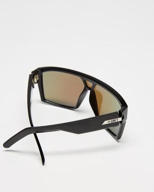 UNIT Command Polarised Sunglasses - Sunglasses (Black & Blue)