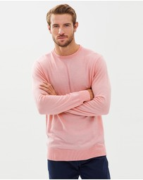 3 Wise Men - The Pop Crew Neck Merino Jersey