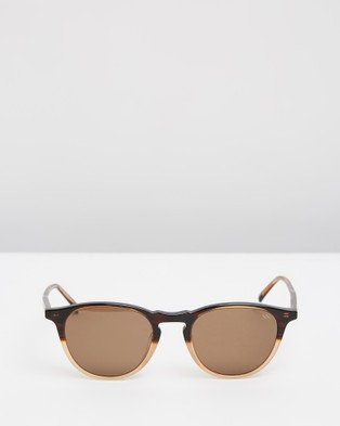 RIXX Eyewear Clayton - Square (Caramel Polarised)