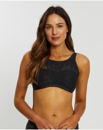 Aqua Blu Australia - Luxe High Neck Bikini Top