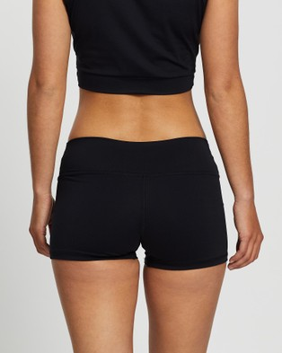 Liquido Active Bad Ass Compression Eco Shorts - Muscle Tops (Black)