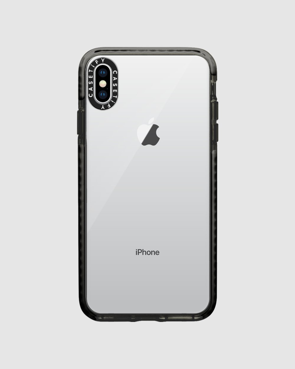 low priced 6b733 74d01 Impact Protective Clear Case for iPhone XS Max – Black
