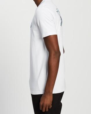 Rusty Surf Wars Short Sleeve Tee - T-Shirts & Singlets (White)