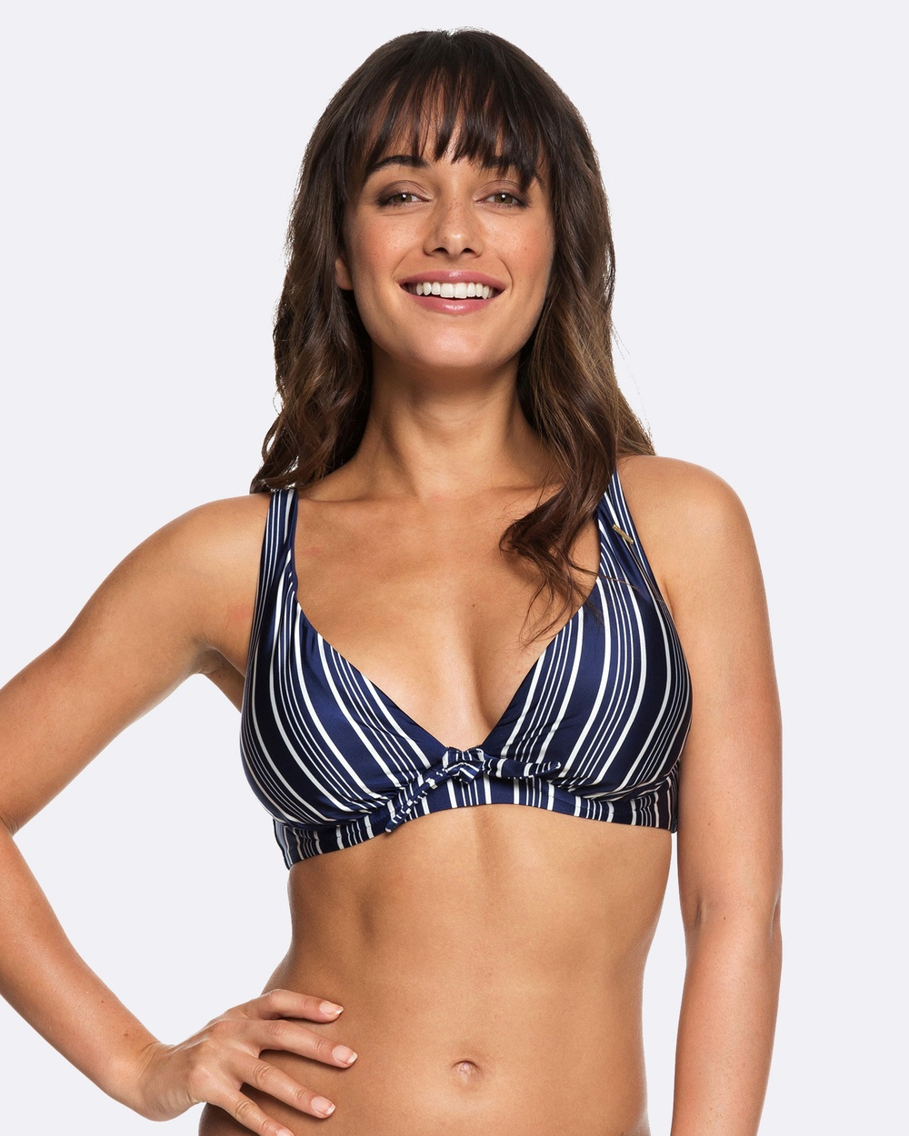 Roxy Womens Urban Waves D Cup Separate Bikini Top Bikini Tops MEDIEVAL BLUE SWIM V Womens Urban Waves D-Cup Separate Bikini Top