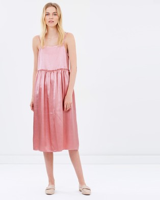 Steele – Silken Dress Pink