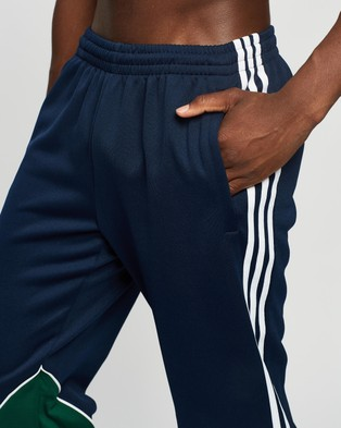 adidas Originals Big Trefoil Abstract Track Pants - Track Pants (Collegiate Navy, Dark Green & White)