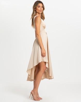CHANCERY - Daphne Midi Dress - Bridesmaid Dresses (Champagne) Daphne Midi Dress
