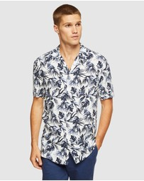Oxford - Putney Printed S/s Shirt