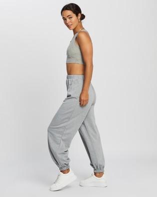REVERSE Crop Set - Sweatpants (Grey)