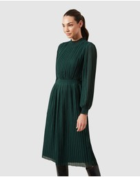 French Connection - High Neck Midi Dress