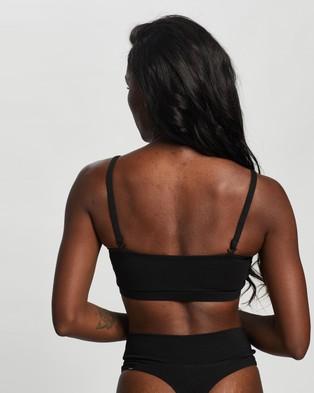 Le Buns Carmen Bralette - Crop Tops (Noir Black)