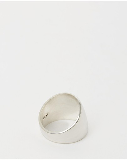 Ichu Polished Dome Ring 925 Sterling Silver