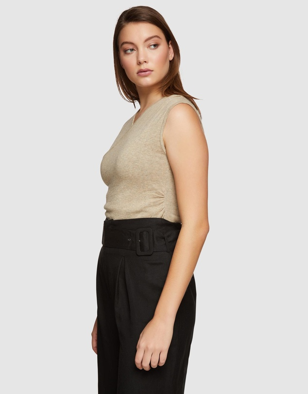 Oxford - Jamie Knitted Wrap Top