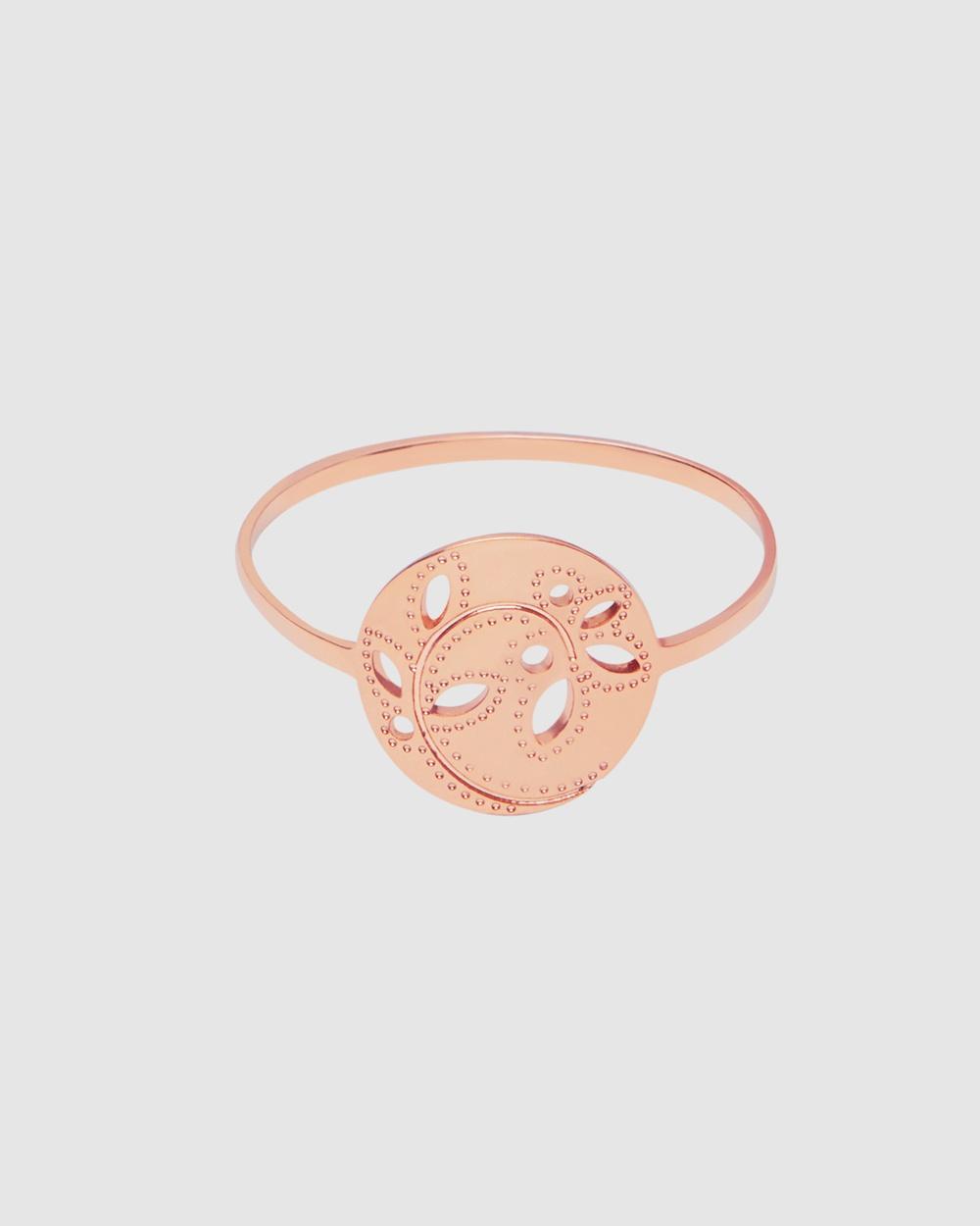 Pastiche Gaia Ring Jewellery Rose Gold
