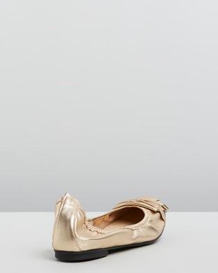 Nina Armando Lovina - Ballet Flats (Navy & Gold)