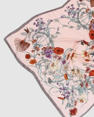 Belle & Bloom Fashion Scarf 2 Pack - Scarves & Gloves (Pink & Cream)