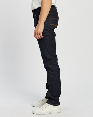 Nudie Jeans Lean Dean Jeans - Tapered (Dry Earth Embo)