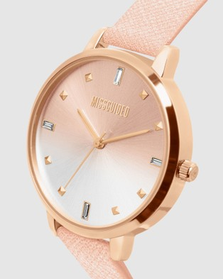 Missguided Missguided Rose Gold Metallic - Watches (Rose)