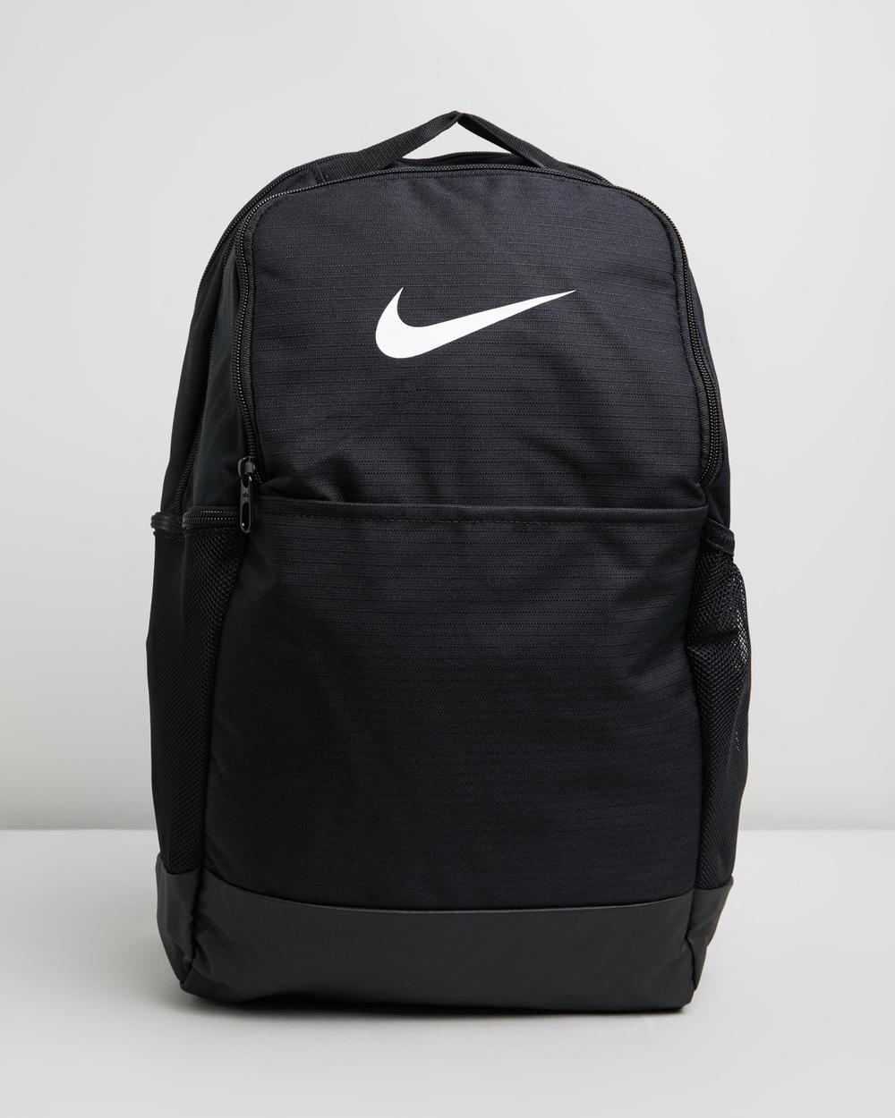 Nike Brasilia Training Backpack Backpacks Black & White