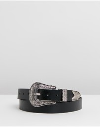 Rubi - Western Buckle Belt