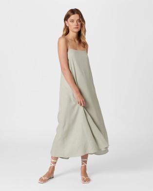 MVN Quinn Midi Dress - Dresses (Sage)
