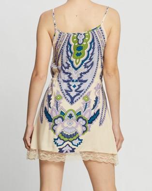 LENNI the label Octavia Mini Dress - Printed Dresses (Exxus Cream)
