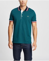 Lacoste - Regular Fit Tipped Collar Polo