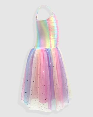 Pink Poppy Pastel Rainbow Party Dress - Dresses (Mutlicoloured)