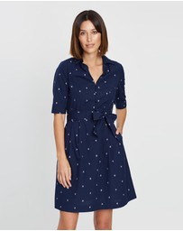 Marcs - Flora Cotton Sheen Dress