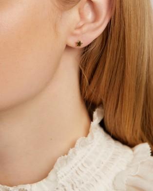 Michael Hill Star Stud Earrings - Jewellery (10ct Yellow Gold)