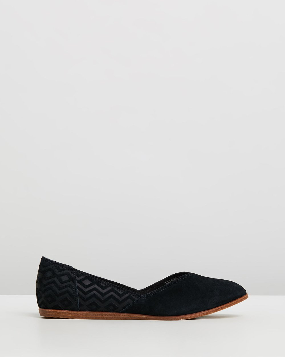e996c353967 Suede Diamond Embossed Jutti Flats - Women s by TOMS Online