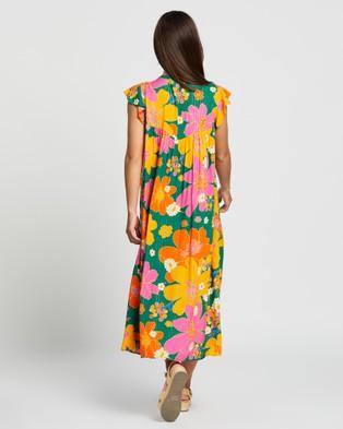 LENNI the label Peninsula Dress - Printed Dresses (Bloom)