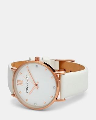 TONY+WILL Jewel - Watches (ROSE GOLD / WHITE / WHITE)