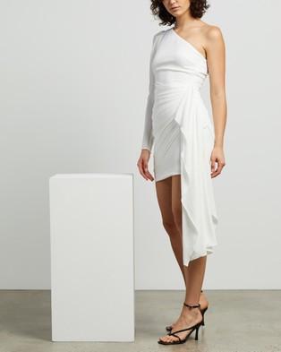 Misha Collection Elsa Dress - Dresses (Ivory)