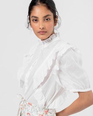 Morrison Issey Shirt - Tops (White)