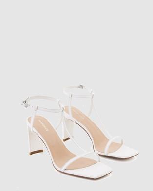 Nakedvice The Jonas Heels - Heels (White)