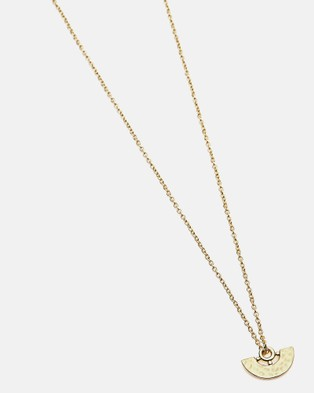 Dear Addison Morning Star Necklace Jewellery Gold