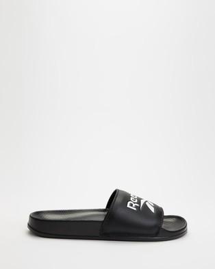 Reebok Classic Slides Unisex Black, White & Black