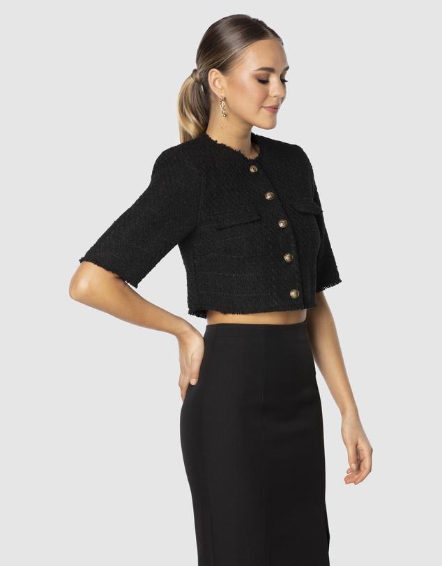 Women Lela Crop Jacket
