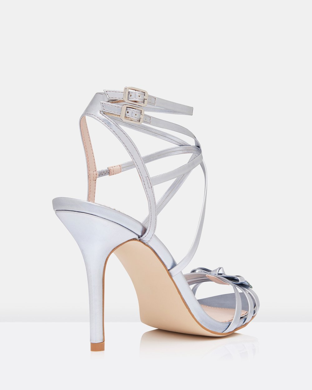 d3ac28ed8c0 Olena Slim Bow Strappy Sandals by Forever New Online