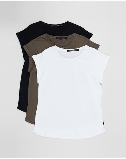 Hurley STELLAR Black Multi Logo Short Sleeve Skate Junior/'s T-Shirt