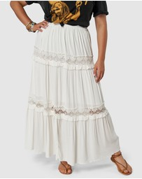 The Poetic Gypsy - Bondi Lace Maxi Skirt