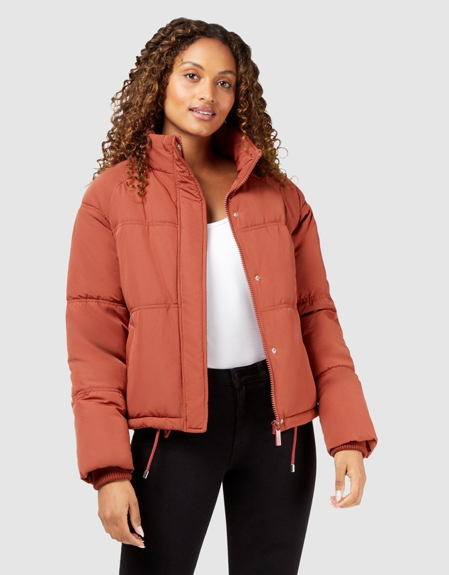 Jeanswest - Mabel Short Puffer Jacket