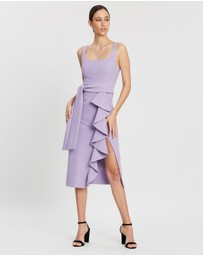 Shona Joy - Square Neck Midi Dress